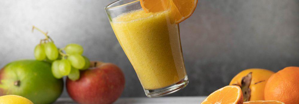 with tangerine
