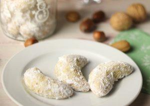 Vanilla crescents (Vanillekipferl), wonderful Christmas biscuits