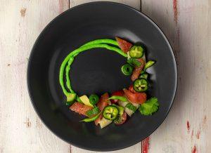 Perfect for vegan haute cuisine