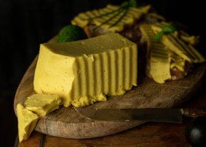 Homemade vegan cheese