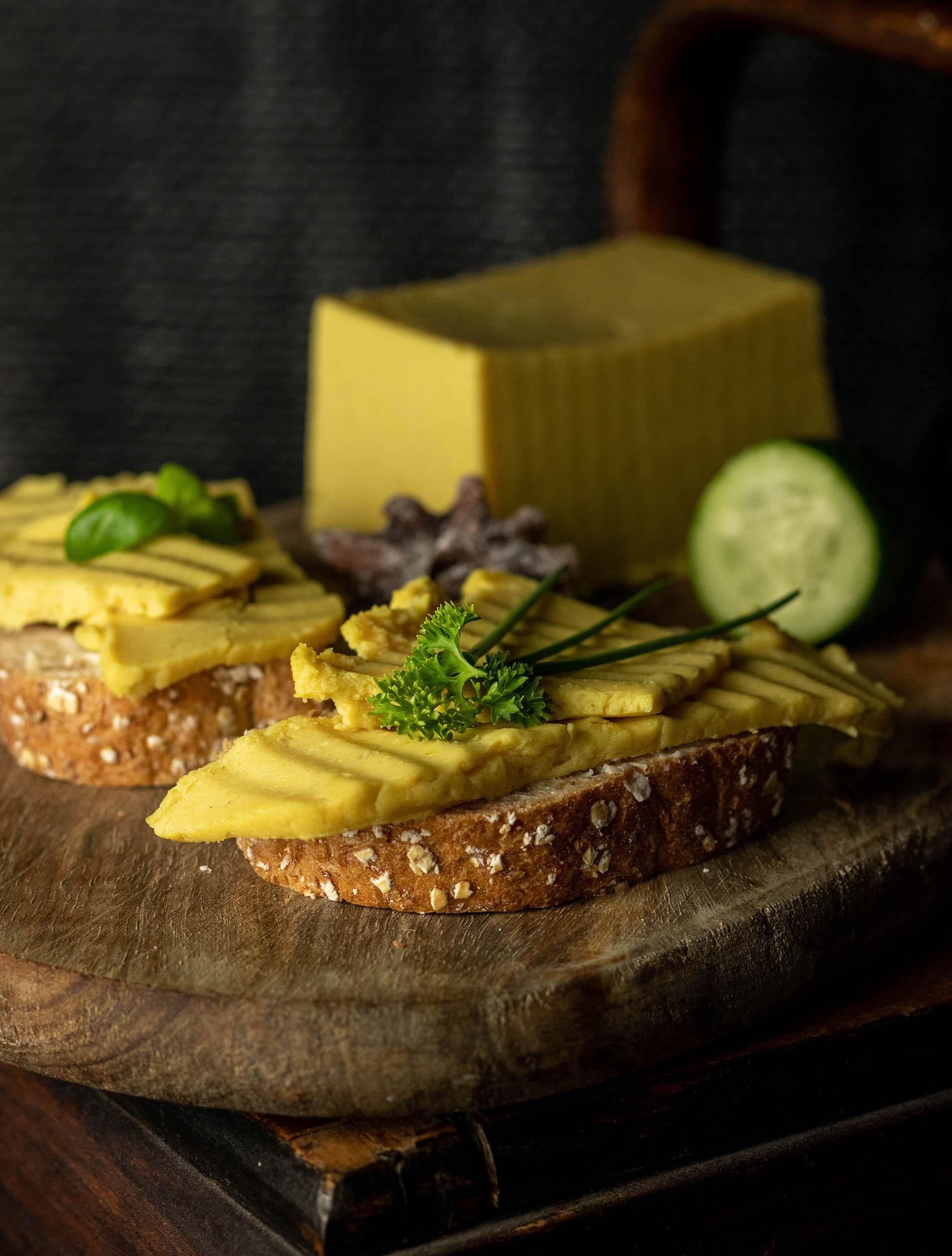 A wonderful, piquant, vegan cheese