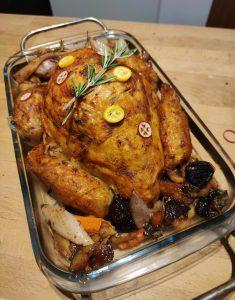 Fresh from the oven: vegan Christmas goose